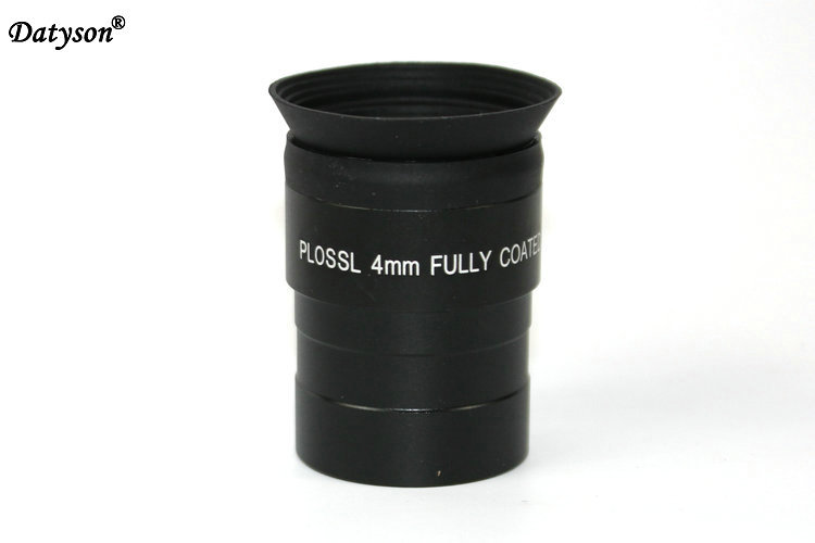 Plossl Eyepiece 1.25 4mm Eyepiece FMC Plossl Astronomical Telescope Ocular with Filter Thread for Astro Lens fast shipping