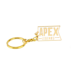 Image 4 - 10 pcs/lot Hot game Apex legends keychain keyring stainless steel key chain Pendants action figure toy gifts
