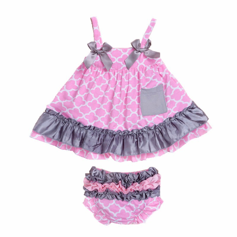 Fashion Style Baby Girl Outfit 6-9 Months Outfits & Sets
