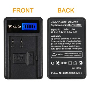 Image 2 - Probty BP 511A BP 511 BP511 Battery Charger For Canon EOS 300D 10D 20D 30D D30 40D 50D