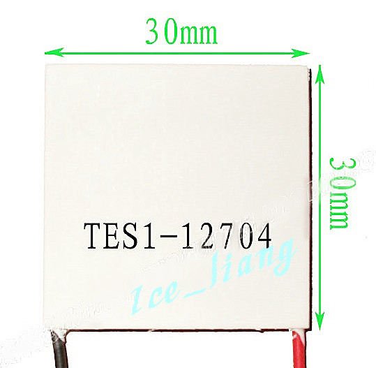 2PCS/LOT TEC1-12704  12V4A 30*30 12704 TEC 2PCS Thermoelectric Cooler Peltier  New of semiconductor refrigeration  FREE shipping freeshipping tes1 12704 12704 4a 30 30mm thermoelectric cooler peltier module