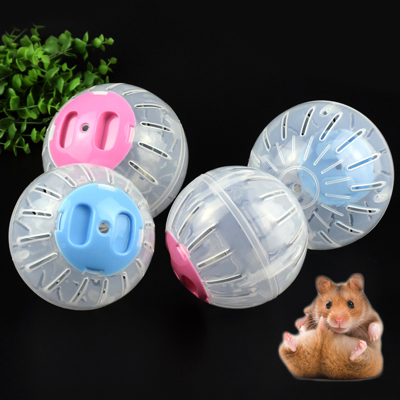 Sale Breathable Clear Ball Without Bracket Hamster Toy 2 Size Pets Product Small Running Ball 2colors Plastic Fit For Small Pets