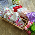 10pcs/lot Fancy mulberry silk triangle female thong panties female pajama pants silk female panties