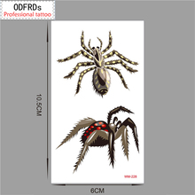2017 style Christmas Party DIY Decorations tattoo tatoo for wedding decoration mariage bride to be party supplies spider WM228