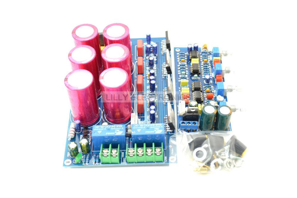 TDA7293 2.1 Channel Subwoofer Power Amplifier Board BTL Design 22V-24V 300W btl cardiopoint holter h100