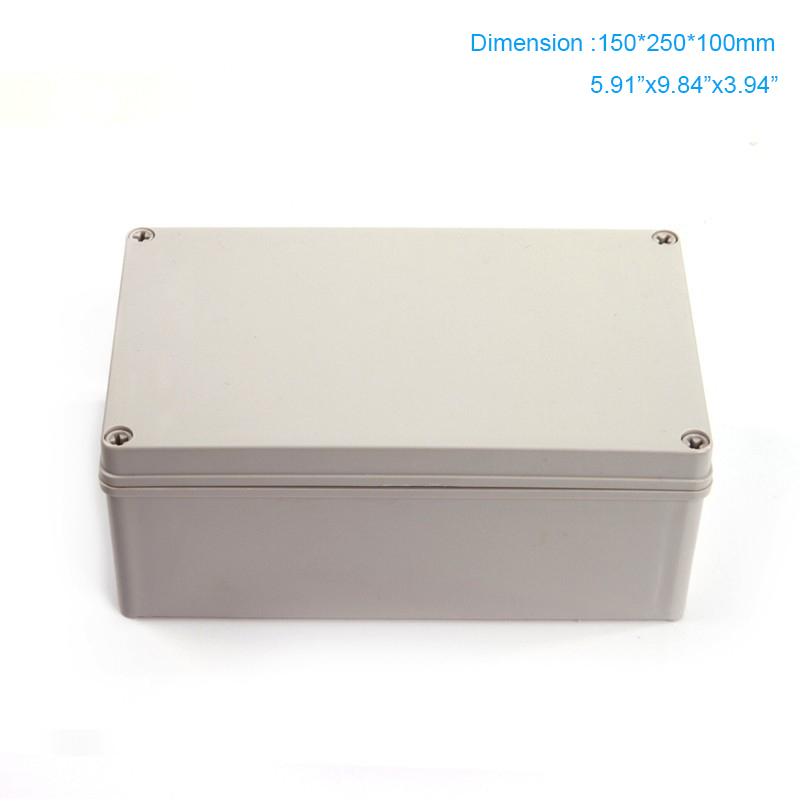 Lights & Lighting Lighting Accessories 200*200*130mm Ip66 Pvc Clear Cover Transparent Cover Abs Body Plastic Enclosure Plastic Box Reliable Performance