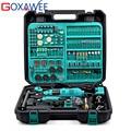 Электрическая мини-дрель GOXAWEE  2 шт.  Электрический вращающийся инструмент с переменной скоростью и аксессуарами  электроинструменты для де...