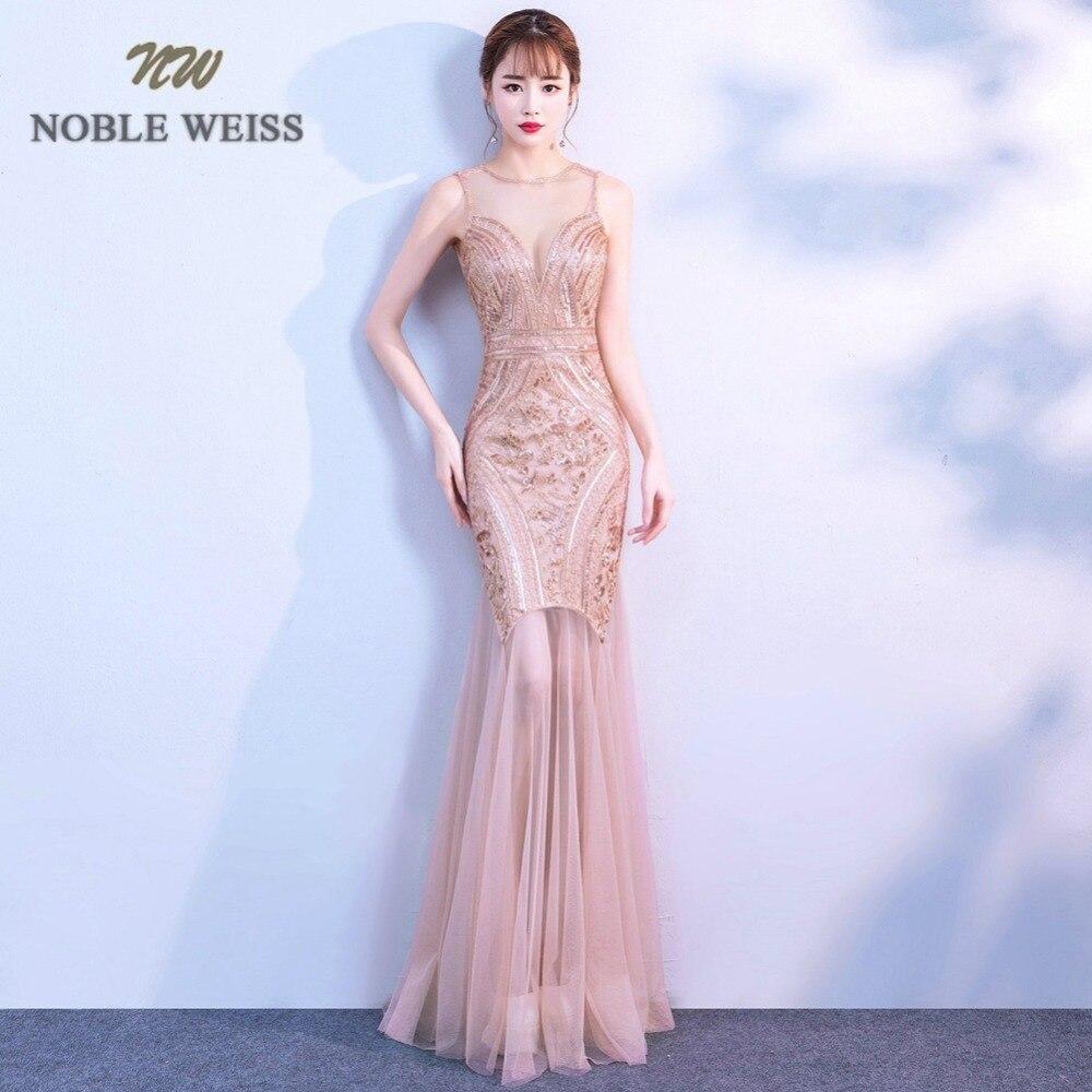 prom dresses sexy black gold vestido de festa longo long mermaid sleeveless o neck sequin prom