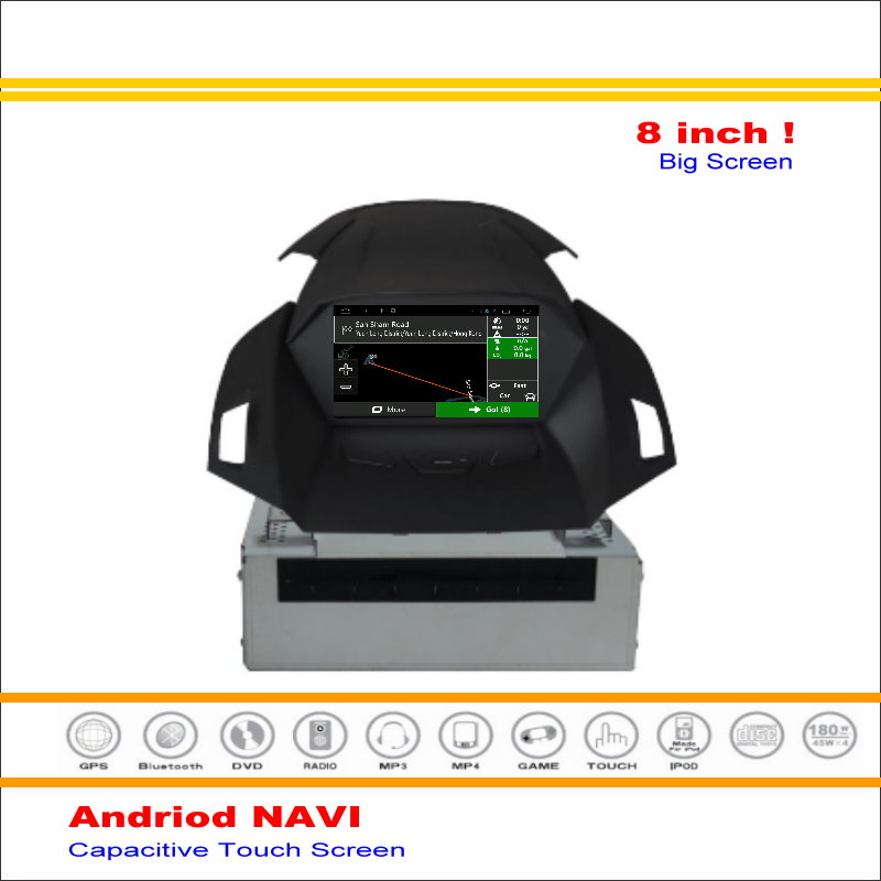car android gps navi navigation system for ford escape kuga 2012 2016 radio stereo audio video. Black Bedroom Furniture Sets. Home Design Ideas