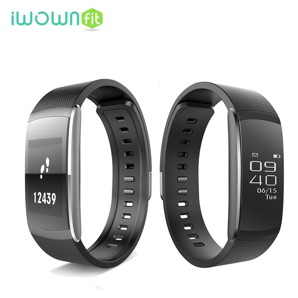2017 iWownfit i6 pro Multi function mode Fitness Tracker Smart Band Heart Rate Monitor Wristband Bluetooth