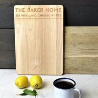 Personalized Gift Natural Bamboo Cutting Board Custom Logo Engraved Restaurant Bakery Board Cooking Mat Chopping Board