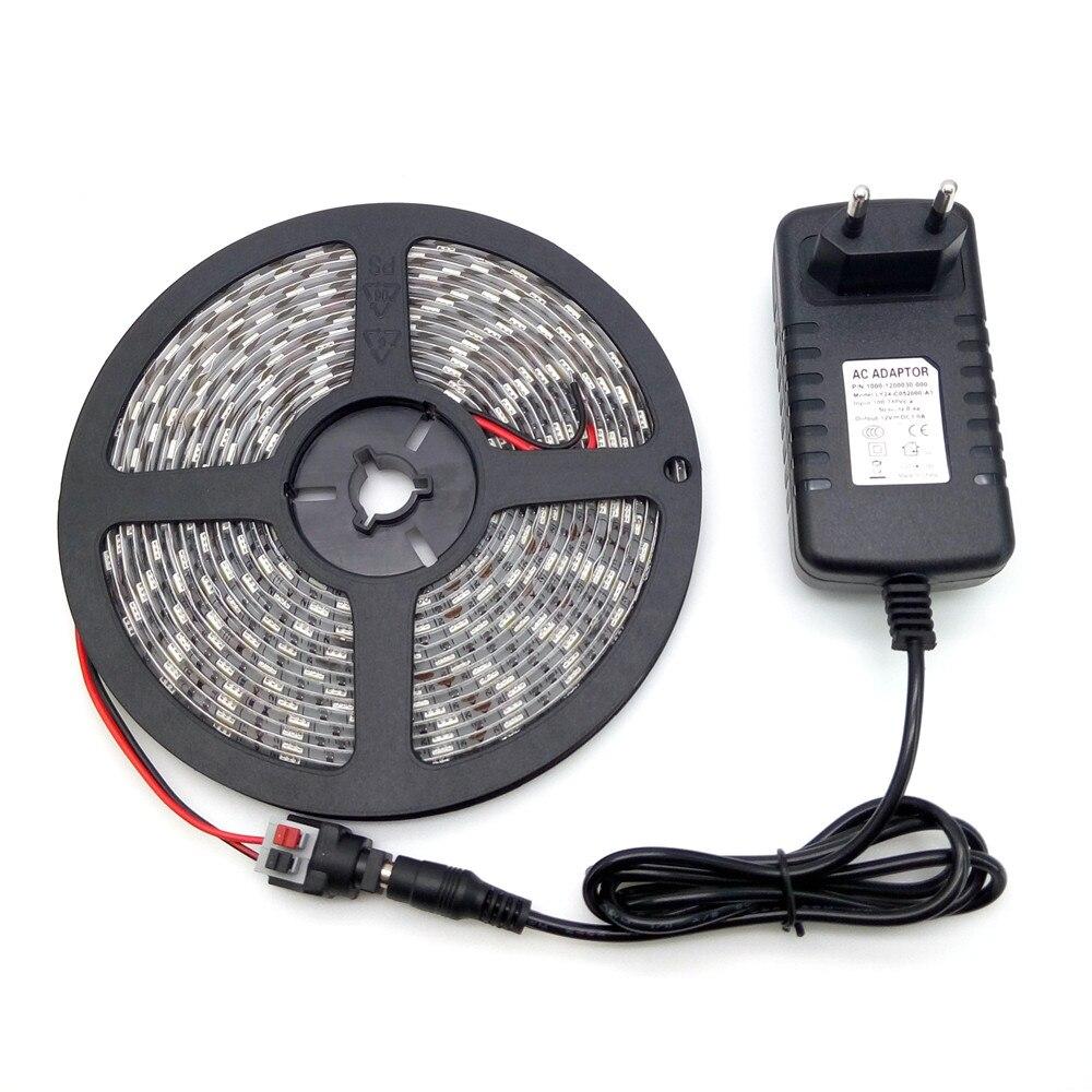 LED Strip Light 5050 5M 300LED Vodotěsné Svítidlo Flexible Strip - LED Osvětlení