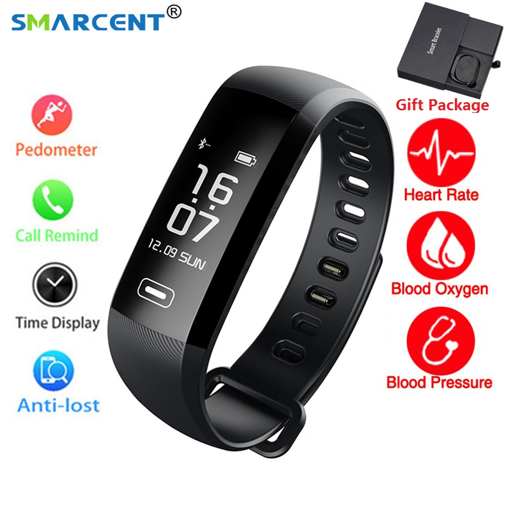 M2 Pro R5MAX Smart Fitness Bracelet Watch Intelligent 50 word Information Display Blood Pressure Blood Oxygen Heart Rate Monitor