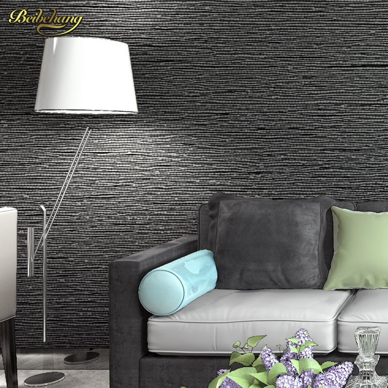 beibehang wall paper papel de parede Modern classic solid color embossed PVC wallpaper bedroom wallpaper texture 3d wall murals 7 colors optional beige floral wallpaper damask wallpaper pvc wall murals free shipping best wallpaper qz0314