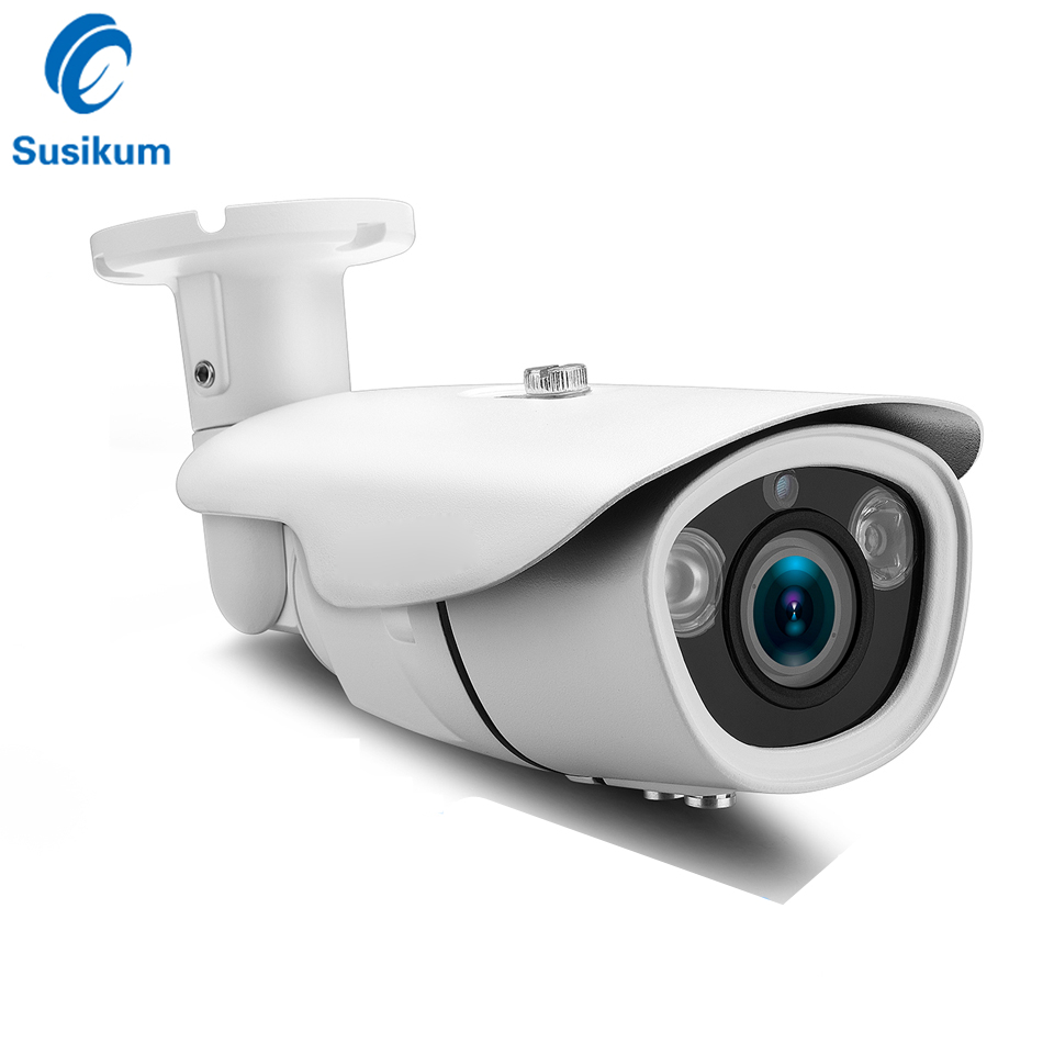 H.265 5Megapixel IP Camera ONVIF 3.6-10mm Varifocal Lens IR 40M Infrared Waterproof Outdoor Bullet 5MP POE Security CameraH.265 5Megapixel IP Camera ONVIF 3.6-10mm Varifocal Lens IR 40M Infrared Waterproof Outdoor Bullet 5MP POE Security Camera