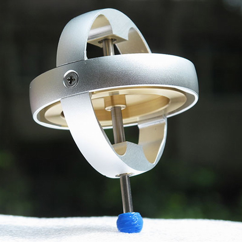Electric Machinery Metal Gyroscope Toy Gyroscope Classic Collection Gifts Anti-gravity Creative Technology.
