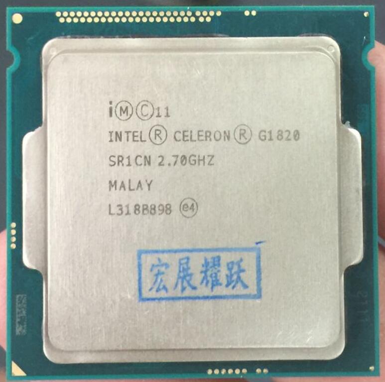 PC Computer Intel Celeron  Processor G1820  (2M Cache, 2.7 GHz) LGA1150  Dual-Core  100% Working Properly Desktop Processor