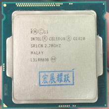 Компьютер Процессор Intel Celeron G1820 (2 м Кэш, 2,7 ГГц) LGA1150 Dual-Core 100% работает должным образом настольный процессор