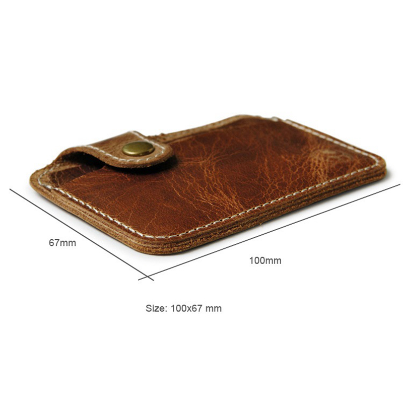 Wholesale Retro Leather Card Wallet Men Business Bank Card Holder ...