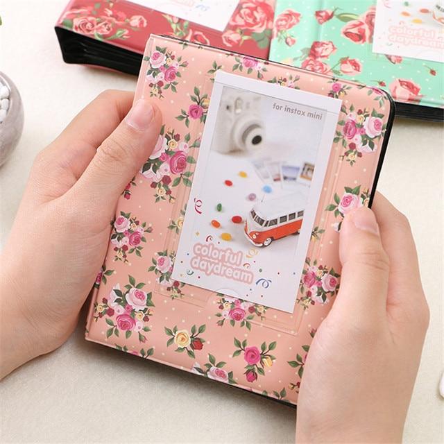 3 Inches Korea Polaroid Mini Photo Album Interleaf Type PP Leafs Album Creative Yearbook 64 Sheets Of Photos Or Name Card