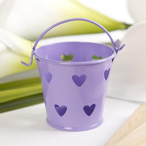 Rayas Luz Púrpura Pegatina Etiquetas Para Bolsa Fiesta Dulce Conos