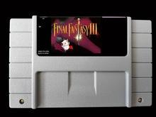 "16Bit משחקים ** Final Fantasy 3 (ארה""ב גרסה!!)"