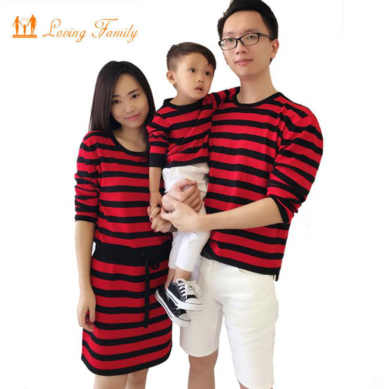 2017 Family Matching Outfits Autumn Spring Family Look ...