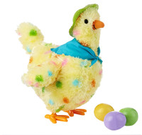 Novelty & Gag Toys Practical Jokes for boys children Laying hen chicken