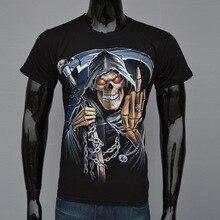 2017 New Skull Iron Maiden Metallica Chucky Led Zeppelin 3d print T Shirt Men Summer Tops Tees Casual Male Short Sleeve T-shirts
