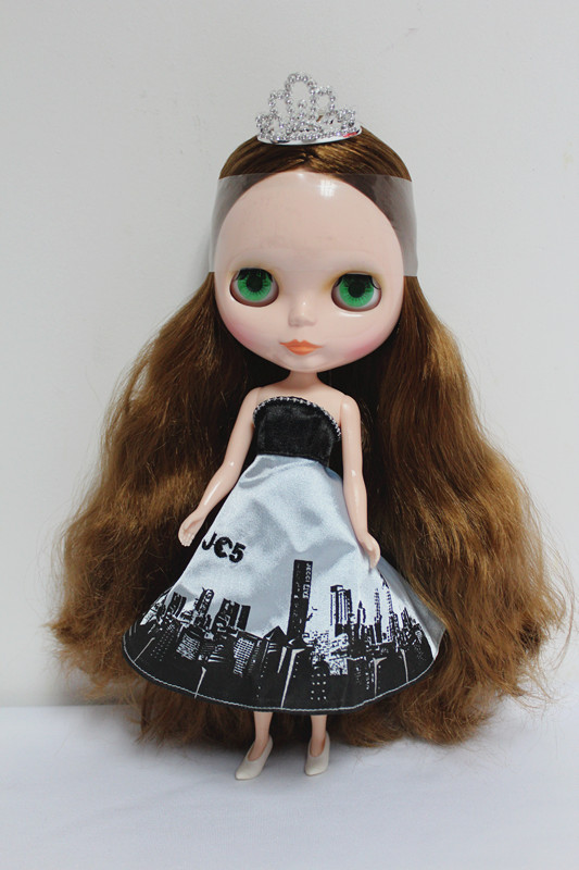 Free Shipping big discount RBL-55DIY Nude Blyth doll birthday gift for girl 4 colour big eyes dolls with beautiful Hair cute toyFree Shipping big discount RBL-55DIY Nude Blyth doll birthday gift for girl 4 colour big eyes dolls with beautiful Hair cute toy