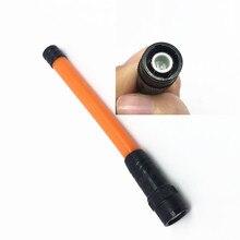 Gomma morbida Antenna UV Dual Sezione 144/430 MHZ BNC per IC V8 IC V82 IC V80E IC V85 C460 TK 308 TK 208