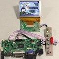HDMI + DVI + VGA + Audio LCD controlador board + LVDS Tcon board + 3.5 polegadas PD035VX2 640*480 painel LCD