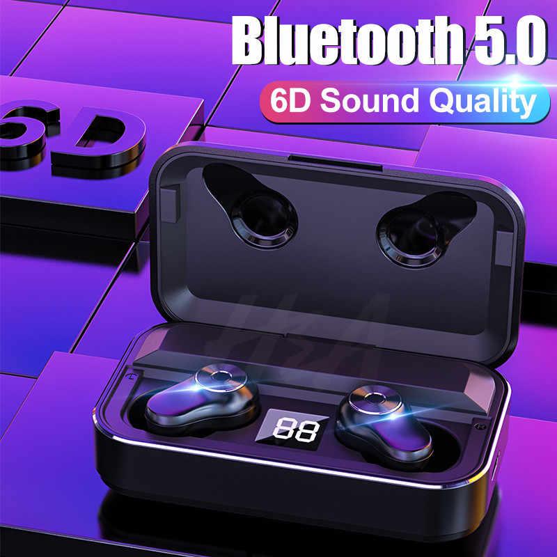 H & A Новые Bluetooth V5.0 беспроводные наушники Bluetooth наушники Hi-Fi стерео спортивные наушники гарнитура наушники для iOS Android телефонов