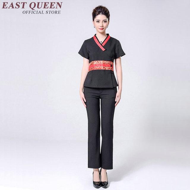 Spa uniforme m dico esteticista uniformes massagem roupas for Spa uniform alibaba