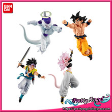 Véritable Bandai Dragon Ball Super Bataille VS Gashapon PVC Figurine Partie 10 Tous Ensemble de 4 Pièces Goku Freeza Gotenks Android No 21(China)