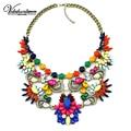 Vodeshanliwen Estilo ventas Calientes Maxi Collar de Mujer de Marca de joyería de moda Collares y Colgantes de Colores gargantilla collar de la declaración