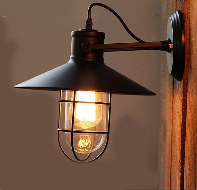 Led lamp retro wireless wall lamps fungsten light lustre bulb led lamp retro wireless wall lamps fungsten light lustre bulb pendant lights lampshade vintage lamp aloadofball Choice Image