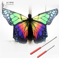 Performance Women Dancewear Belly Dance Props Butterfly Wings Belly Dancing Isis Wing Adult