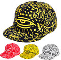 Los amantes del hip-hop graffiti fluorescente snapback caps gorra de béisbol hombres mujeres boy chica sombrero snap back aba hueso casquette reta