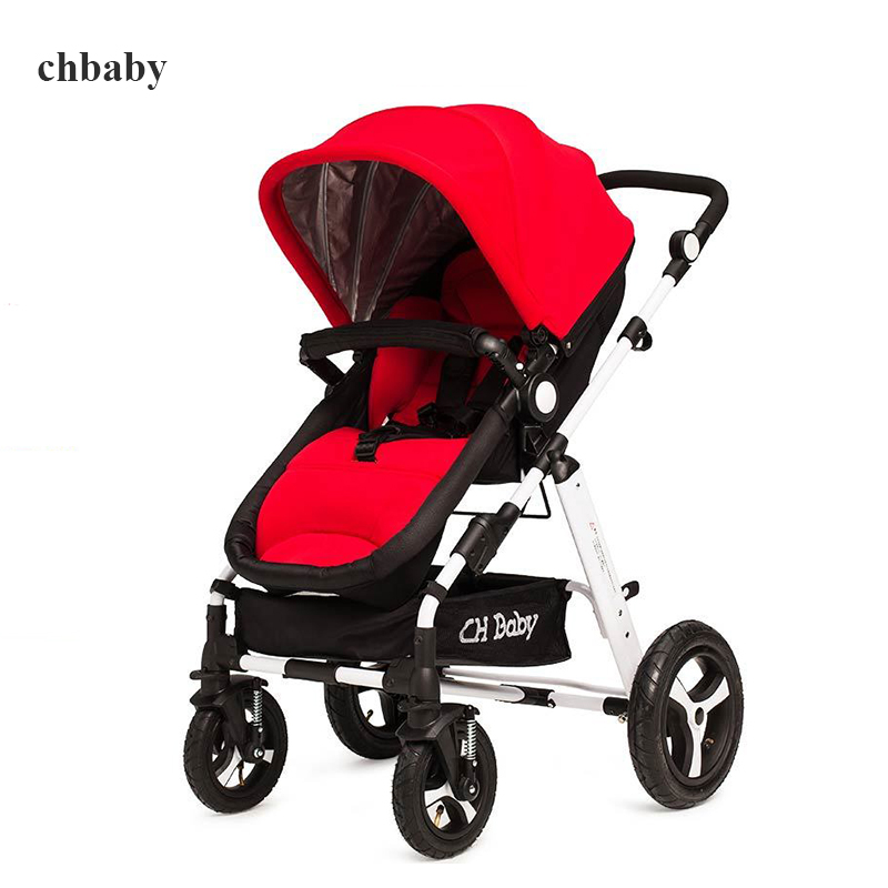 Chbaby baby car child stroller light summer baby car umbrella baby stroller with foot pedal the new children s relectric car tricycle motorcycle baby toy car wheel car rechargable stroller drive by foot pedal with music
