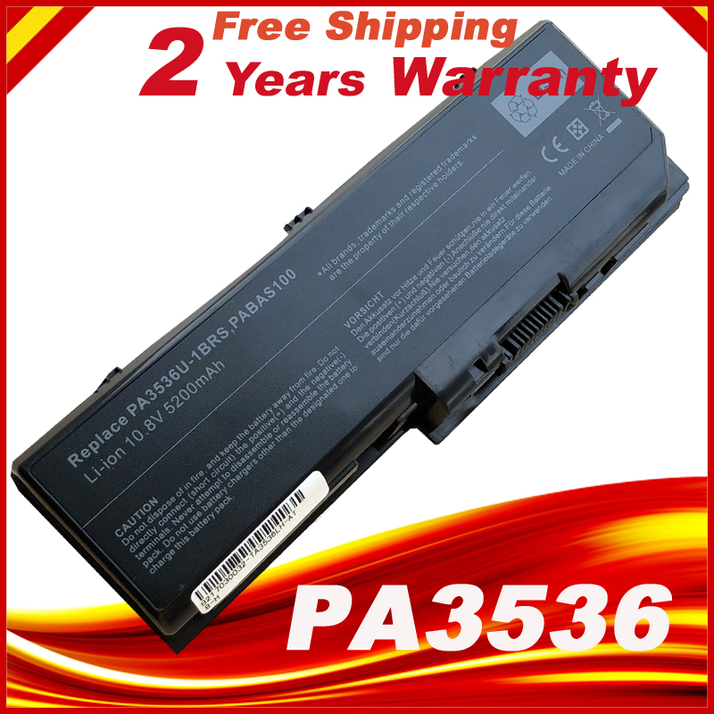 Battery for TOSHIBA Satellite Pro L350 P200 P300 X200 X205 PA3536U PA3537 PA3537U Series Free shipping цена