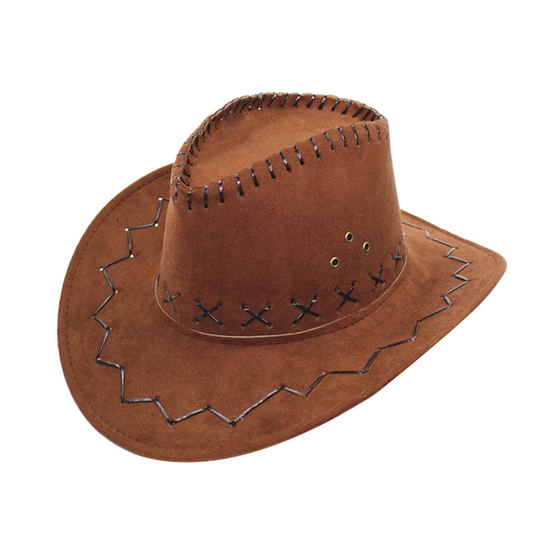 New Men Women Wild West Fancy Cowgirl Cowboy Hats Western Headwear Cap Classic
