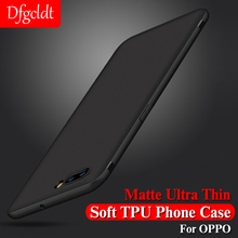 Matte Ultra Thin Soft TPU Phone Case for OPPO R9 R9S R7 R7S Plus Silicone Full Cover R11 R11S F1S Capa Coque