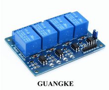 1pcs/lot 4 channel relay module 4-channel relay control board with optocoupler. Relay Output 4 way relay module