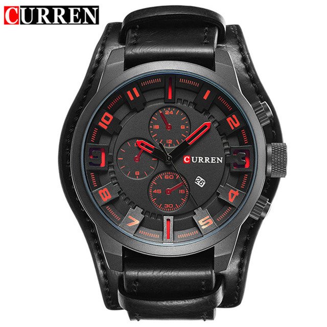 Leather Business Fashion Men's Watch
