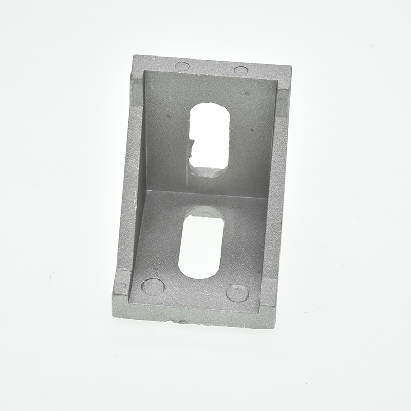 10pcs corner fitting angle aluminum connector bracket fastener 2020 <font><b>3030</b></font> 4040 4545 series industrial aluminum profile image