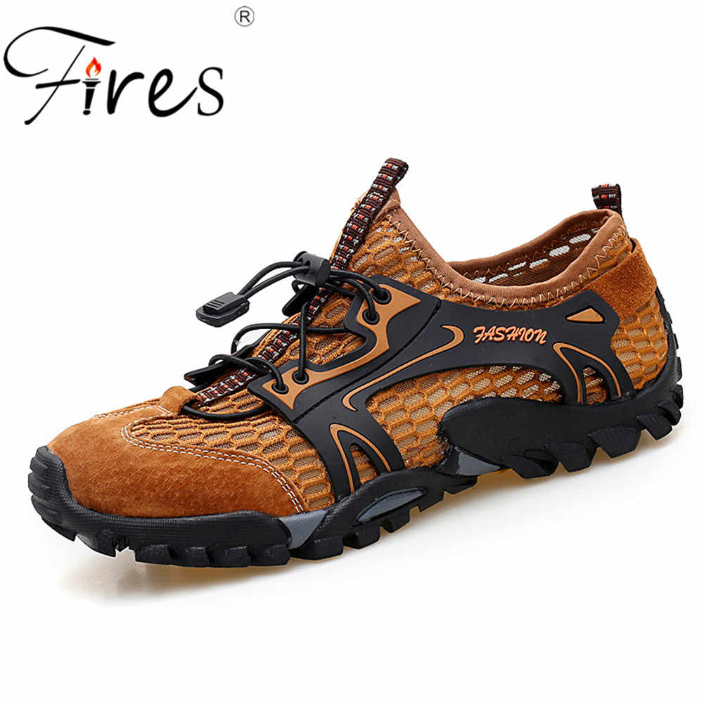 7e18fa88c0e Detail Feedback Questions about Men Outdoor Sneakers Breathable ...