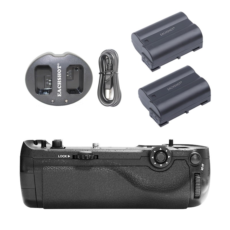 цена на Pixel Vertax D17 Professional Battery Grip for Nikon D500 Compatible with Battery And USB Dual Charger
