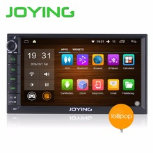 Joying Newest Android 5.1 Lollipop Double 2 Din 7″ DVD Player Universal GPS Navigation Car radio Support DAB+ TV Bluetooth USB