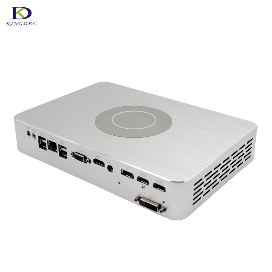 Newest 4G Dedicated Card Game Mini PC with GTX1050TI Intel Qaud Core i7 7700 8MB Cache 2*HDMI DVI DP multi-screen display pc цены